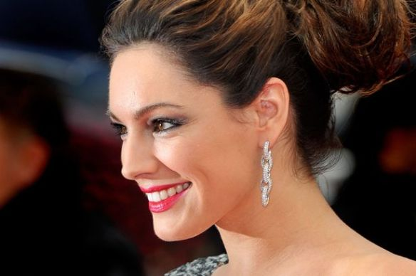 Kelly Brook arrives for the screening of %22Vous n'avez encore rien vu !%22 (You ain't seen nothing yet !) presented in competition at the 65th Cannes film festival