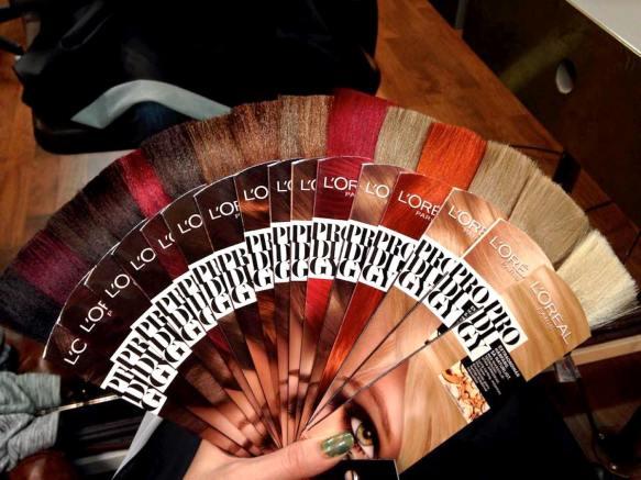 Loreal hårfärger