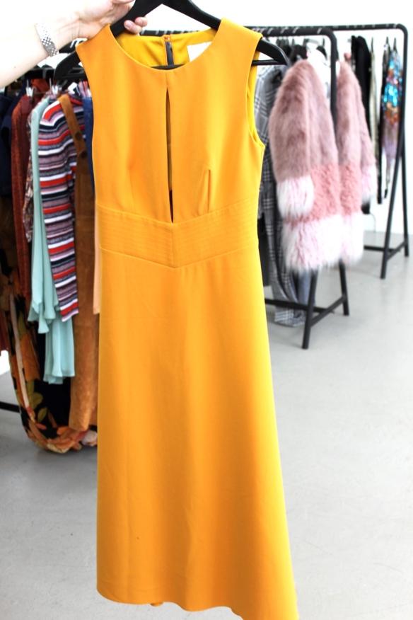 Asos Höst gul klänning