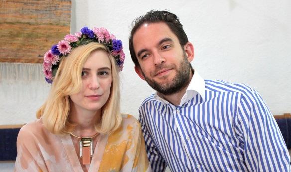 Rebecca och Ian Gulam