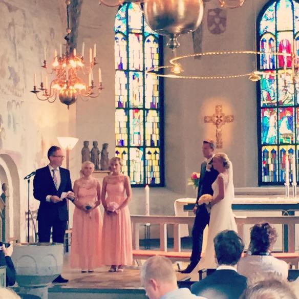 bröllop danmarks kyrka