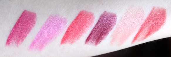 Lumene True Passion swatches Elinfagerberg.se