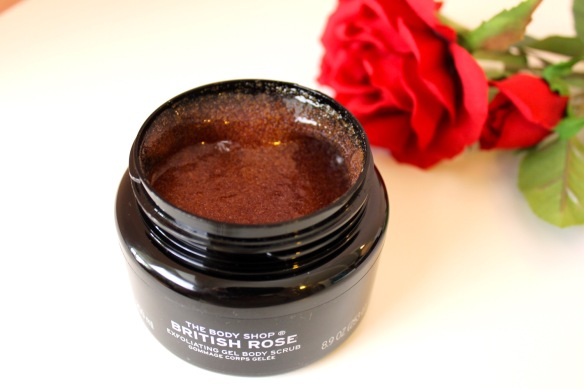 The Body Shop British Rose Exfoliating Gel Body Scrub Elinfagerberg.se